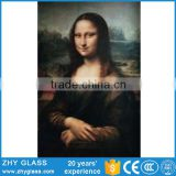 Mona Lisa Abstract Beautiful Women Oil Painting