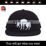 Professional factory manufacture design your blank 5 panel camp cap with your embroidery