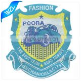 Custom iron-on woven patch and woven label with competitive price, wholesale woven labels for clothing                                                                                                         Supplier's Choice