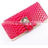 Hot fashion Snakeskin grain purse , leather wallet ,women purse alibaba china direct factory
