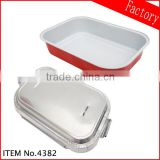 Rectangle aluminium foil container & aviation aluminium foil container for food packing manufacturer in guangzhou
