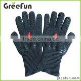 Wholesale Aramid Fiber BBQ Gloves , Hot Lightweight Silicone Covering BBQ Grill Gloves , Heat Resistant Gloves , Pot Holders