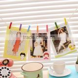 6PCS/set Hot sale cheap high quality qudecoration brown paper frame cardboard picture frame kraft paper photo Rahmen
