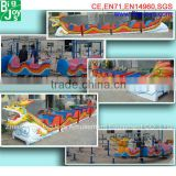 Carnival Rides Rider Equipment Roller Coaster Train for Sale, mini roller coasters for sale