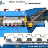 High Standard Cassette Type Galvanized Steel Decking Floor Roll Forming Machine For Sale