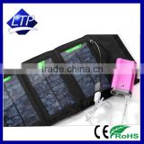Outdoor Sports Power Station Charger Foldable Flexibility 5W USB Solar phone tablet Charger