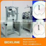 Goat milk soap manual wrapping machine