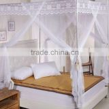 Chinese goods wholesale portable foldable 100% polyester permanent Fiberglass mosquito nets bed
