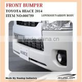 Toyota new hiace parts commuter front bumper for narrow body commuter van bus #000759 KDH200