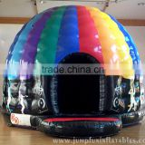 Trade Assurance Disco Dome Bouncy Castle 2016 newly inflatable jumping moonwalk house hire