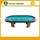 Deluxe china made casino texas holdem poker table for casino using