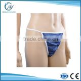 disposable sexy blue women micro string bikini thongs