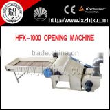 HFK-1000 cotton fiber wool opening machine with high capacity
