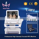 Skin Lifting HIFU Machine!! Wrinkles Removal HIFU/HIFU Deep Wrinkles Slimming Machine For Salon Use 300W