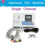 Good quality Veterinary Use Digital One channel Electrocardiograph ECG EKG-901V-2 Machine CE/ISO certified