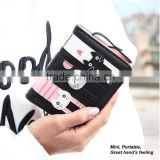 fashion cat bag classic black coin purse change pouch wrist bag handbag tote bag wallet