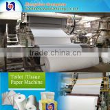 Engineers Avaliable Overseas Different Model toilet tissue paper making machinery Sanitary Napkin Paper Making Machine Cost