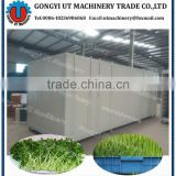 FULL Automatic Water and Temperature Control fodder sprouting machine/ seedling sprout growing machine