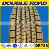 china truck tyre dealers double road brand 205/75/17.5 tire wholesale