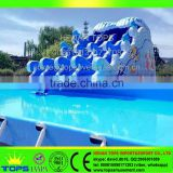Good Quality Infaltable Floating Slide Animated Water Park