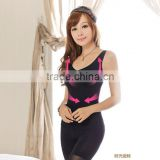 LY008 L08 Wide straps thin women breast care postpartum stomach Body Waist slimming shaping underwear vest seamless