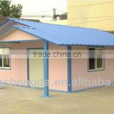 short time construction good appearance steel structure light portable modern homes made in china