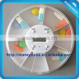 2013 Hot Selling Round Shape Digital Pill Box Timer