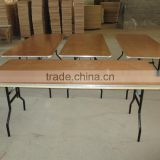 Plywood Wedding Banquet Long Table for hot sale