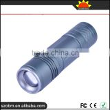 New arrival OEM W519 XP-E LED 500Lm 5 mode Outdoor HIgh quality led torch ,EDC flashlight