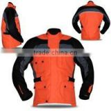 Custom Men Motorbike Textile airbag JACKETS