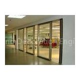 Office Folding Glass Block Partition Walls 680 / 1230 Width 2000 / 4500 Height