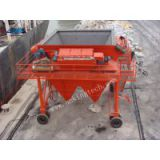 stationary weighing and bagging machine for port