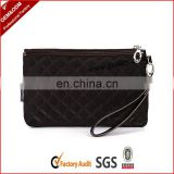 Wholesale lady wallet with zippered coin pocket