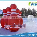 inflatable bubble bowling zorb ball