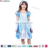 children cinderella costumes party fancy dress wholesale custom made halloween costume for kids