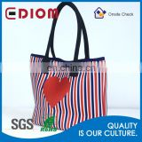 Wholesale Neoprene Ladies Handbags with custom printing