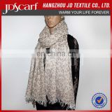 High quality spring winter fashion leopard print scarf