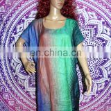 Details about New Silk Kaftan Dress Hippie Boho Maxi , Women Kaftan Poncho Kimono