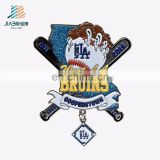 alibaba china suppliers custom metal made funny baseball cap pin badge