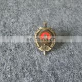 customized Russian logo types factory price lapel pin for promotion