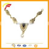 fashion zinc alloy decorative chain with rhinestones for dresses F1032
