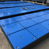 customized uhmwpe marine fender pad/dock fender face pad