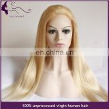 wholesale cheap glueless silk top full lace wig big wave blonde brazilian hair full lace wig