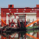 HL 300 hot sale best quality hydraulic river sand cutter suction sand dredger for dredging and desilting