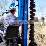 CE Solar Pile Driver Earth Soil Auger Drilling Machine Price For Sale