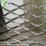Decorative one way vision aluminum mesh limited vision mesh