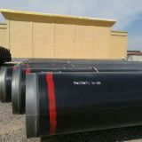 ASTM A671CC60 CL22 LSAW steel pipe with black paint