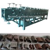Steel Handrail Tube Rollforming Machinery, Special Shape Steel Pipe Making Machine