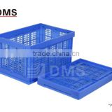 540*360*300 EU 1# PP mesh crate plastic foldable basket                                                                         Quality Choice