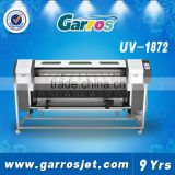 Garros Brand UV Digital Printer Roll To Roll Flatbed Wide Format Inkjet Printer 1.8M With Ep son Printhead